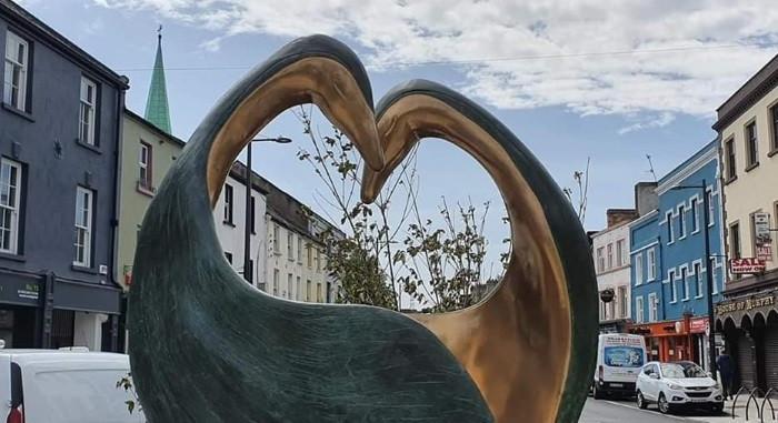 'Heart Space', Dundalk Town Centre - Bronze