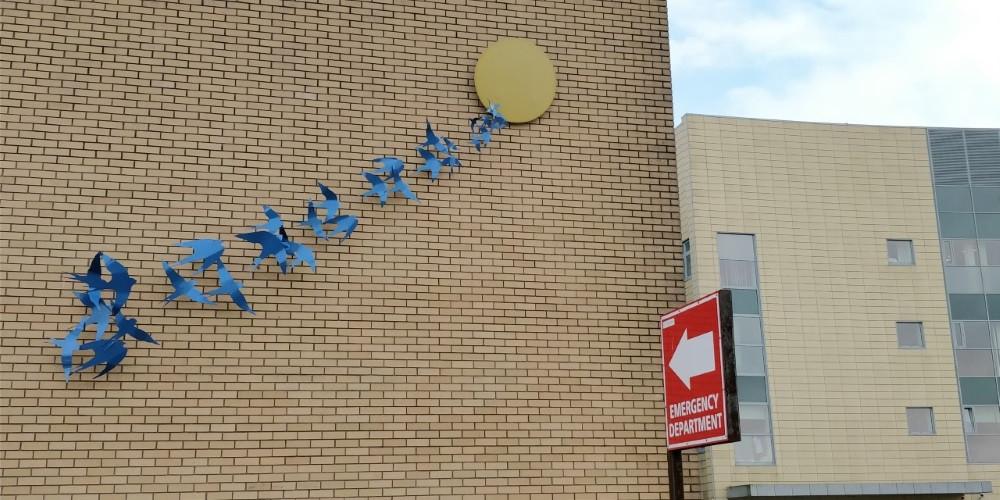 'Rising Together', Our Lady of Lourdes Hospital, Drogheda