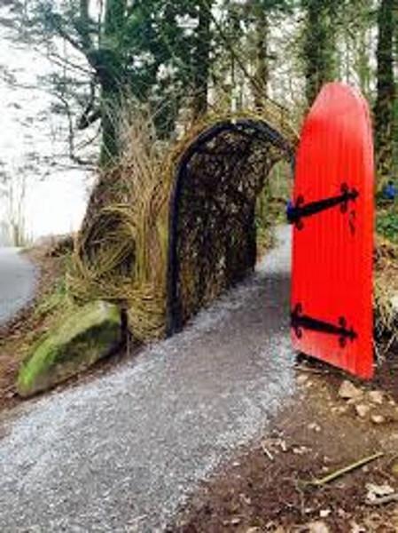 Fairy Village Entrance, Slieve Gullion Forest Park, Newry Co. Down
