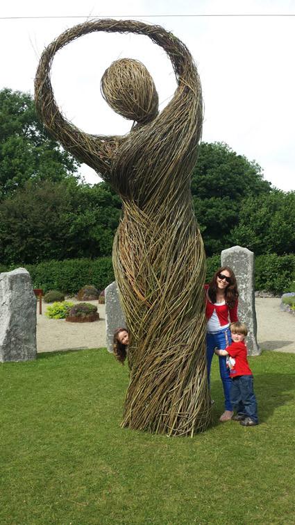 'Mother Earth', St. Brigid's Garden, Galway