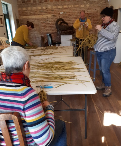 Willow workshop group, Listoke Gallery