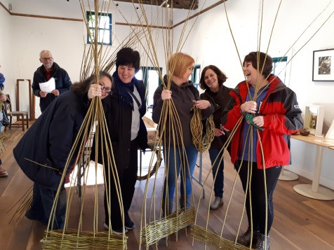 Willow structure workshop, listoke